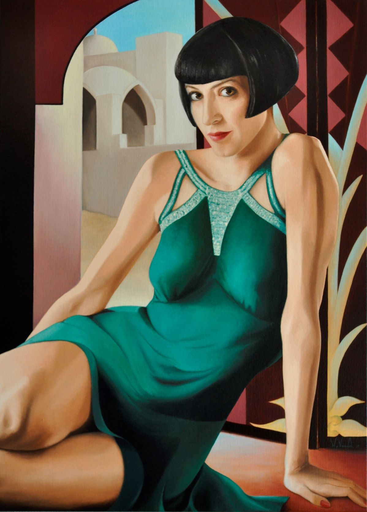 Portret in opdracht - Art Deco Portraits